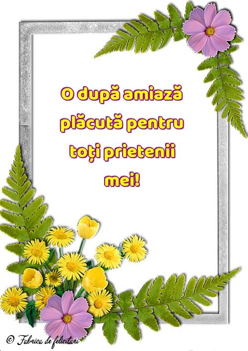 Felicitari de Amiaza
