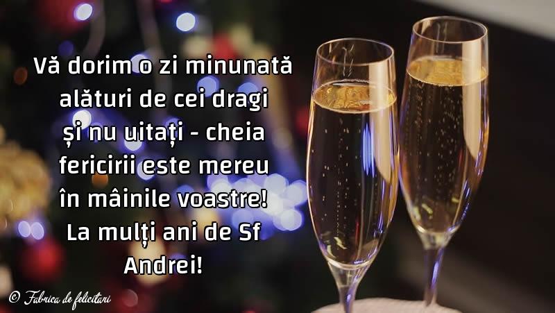 Felicitari de Sfantul Andrei - La mulți ani de Sf Andrei!