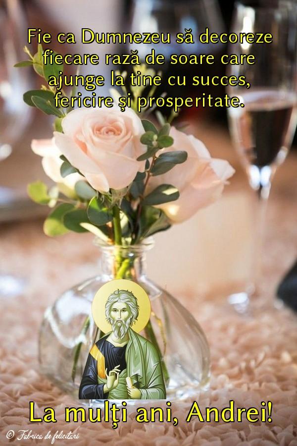 Felicitari de Sfantul Andrei - La mulți ani, Andrei!