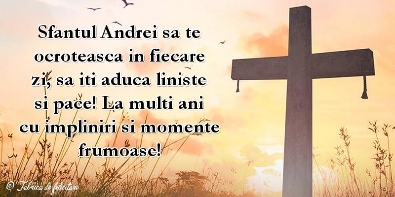 Felicitari de Sfantul Andrei
