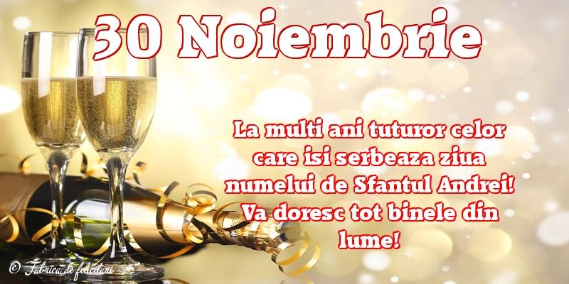 Felicitari de Sfantul Andrei - 30 Noiembrie
