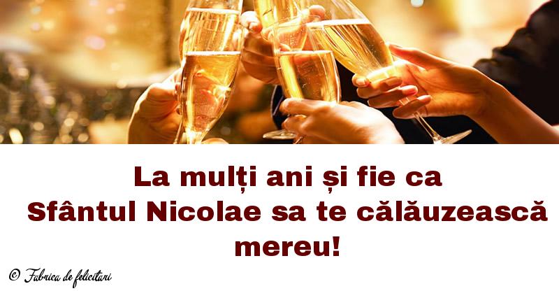 Felicitari de Sfantul Nicolae