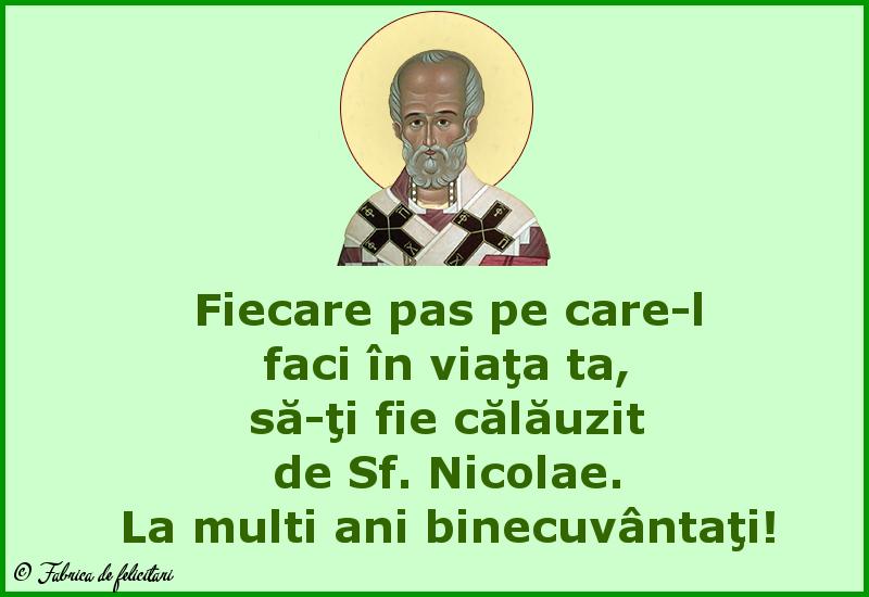 Felicitari de Sfantul Nicolae - La multi ani binecuvântați!
