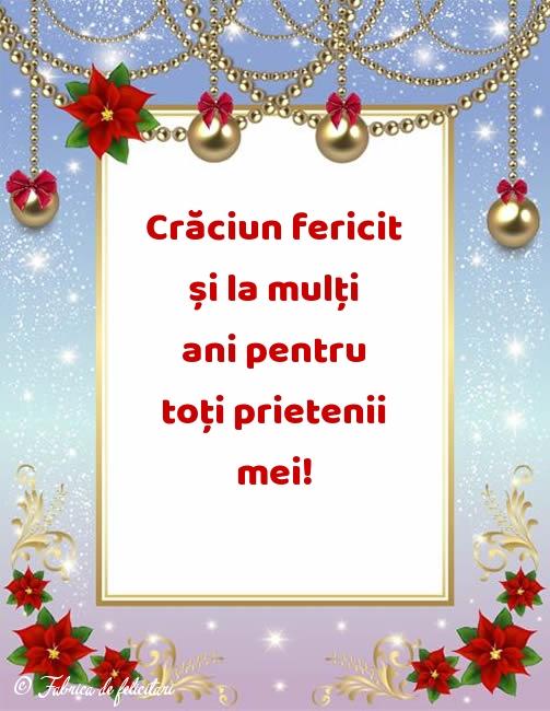 Felicitari de Craciun