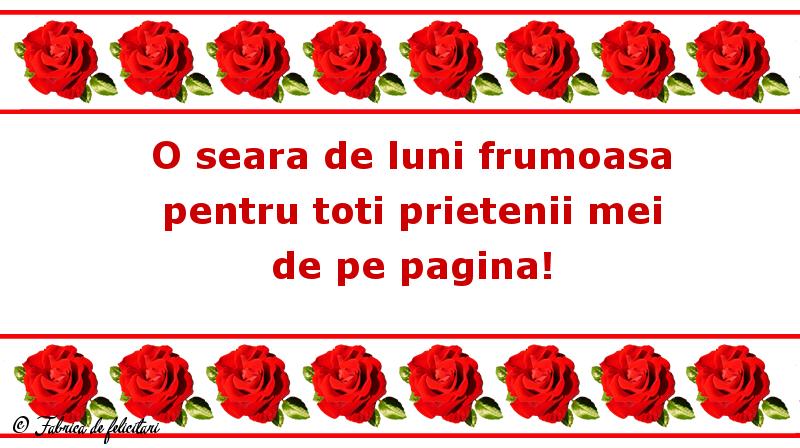 Felicitari de Seara