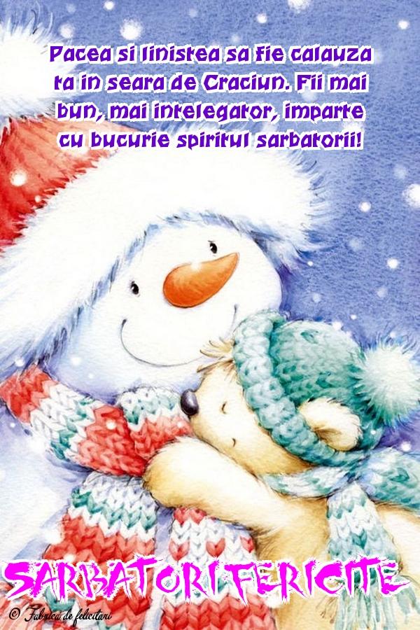 Felicitari de Craciun - Sărbători fericite!