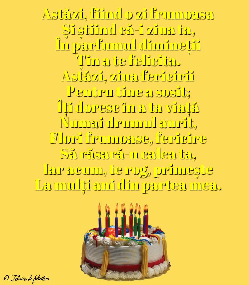 Felicitari de La multi ani