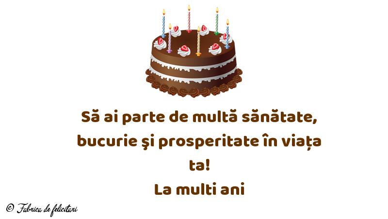 Felicitari de La multi ani - La multi ani