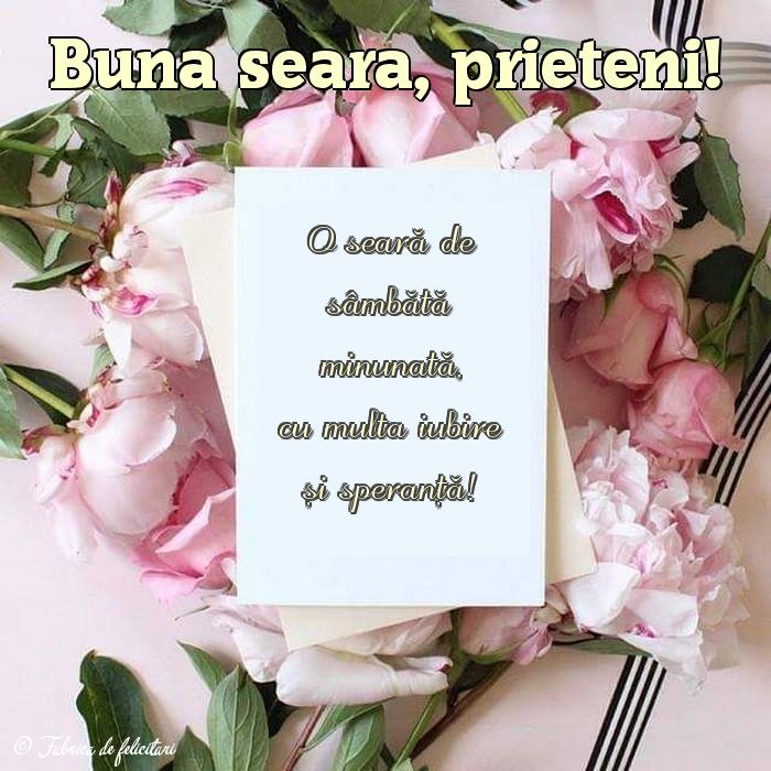 Felicitari de Seara - Bună seara, prieteni!