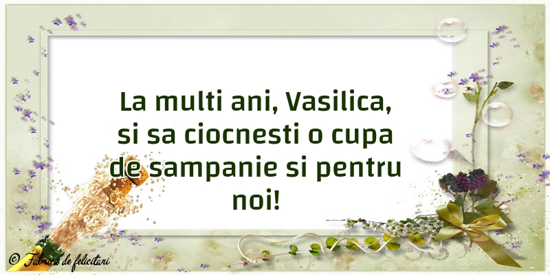 Felicitari de Sfantul Vasile