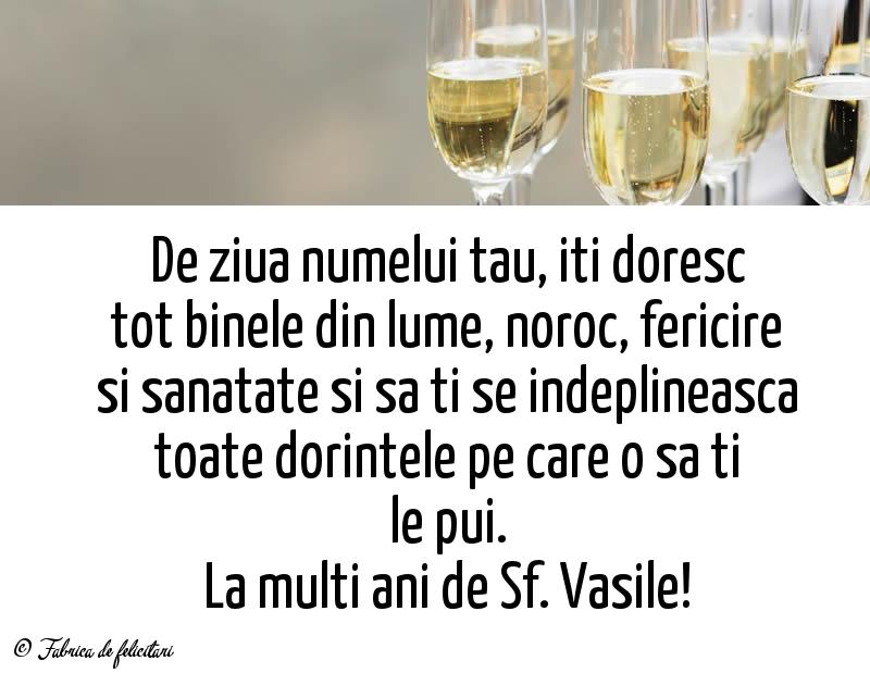 Felicitari de Sfantul Vasile - La multi ani de Sf. Vasile!