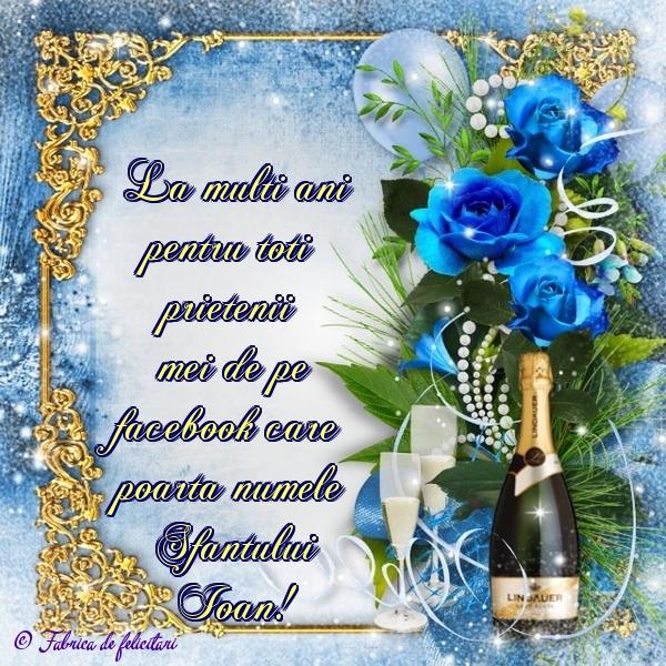 Felicitari de Sfantul Ioan