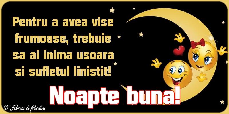 Felicitari de Noapte - Noapte bună!