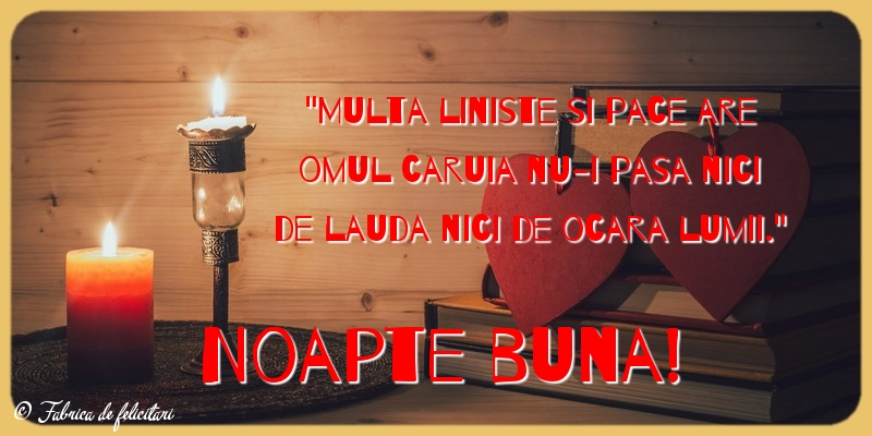 Felicitari de Noapte - Noapte buna!