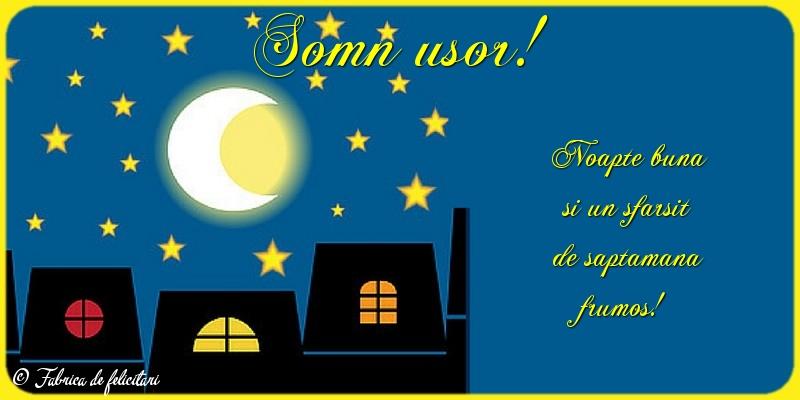 Felicitari de Noapte - Somn usor!