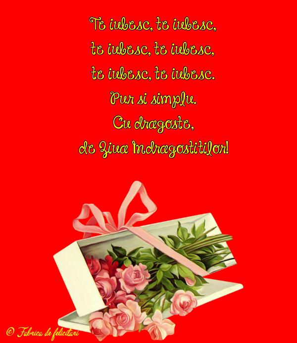 Felicitari de Ziua Indragostitilor