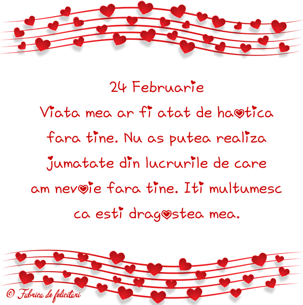 Felicitari de Dragobete - 24 Februarie