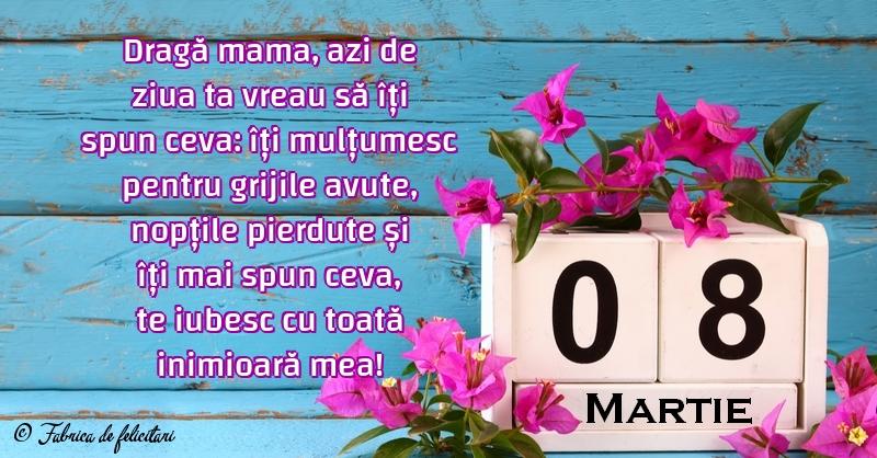 Felicitari de 8 Martie