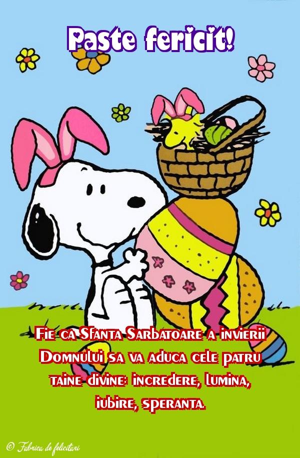 Felicitari de Paste - Paște fericit!