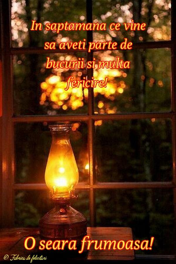 Felicitari de Seara - O seară frumoasă!