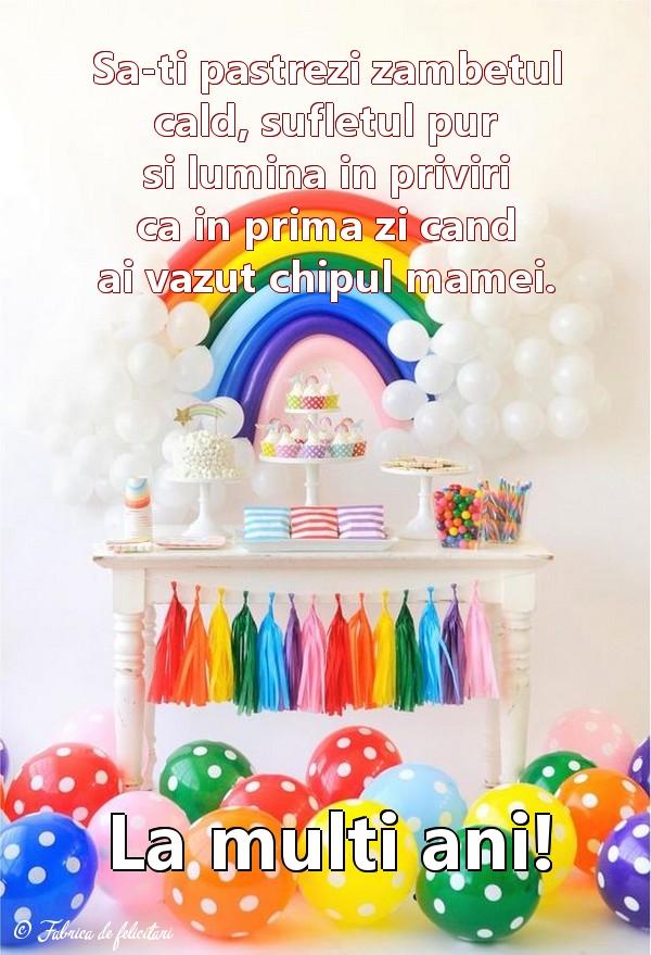 Felicitari de 1 Iunie - La multi ani!
