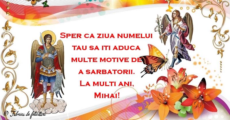 Felicitari de Sfintii Mihail si Gavril