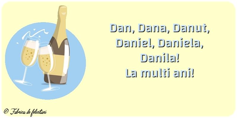 Felicitari de Sfantul Daniel - La multi ani!