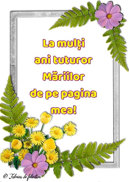 Felicitari de Sfânta Maria Mică